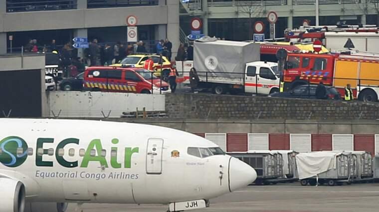 """Expressen har pratat med en av svenskarna som skadades lindrigt i attacken i Bryssel: Om vi befann oss tio meter längre fram så hade vi inte kunnat ha det här samtalet"""", säger han till Expressen. Foto: Francois Lenoir / REUTERS X01164"""