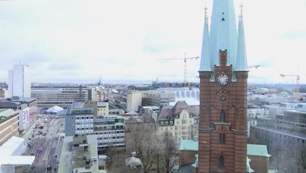 Stockholm växer i större takt än Kina