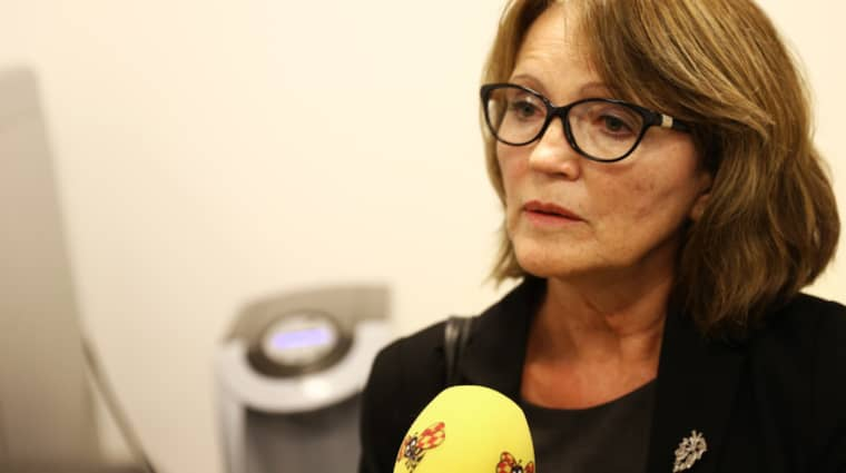 Advokat Inger Rönnbäck menar att vittnet Billy Bertilssons berättelse öppnar för att någon annan kan ha mördat Lisa Holm. Foto: ANDERS YLANDER