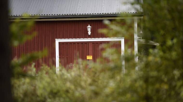 Här är gården där kvinnan ska ha hållits fången. Foto: Jens Christian