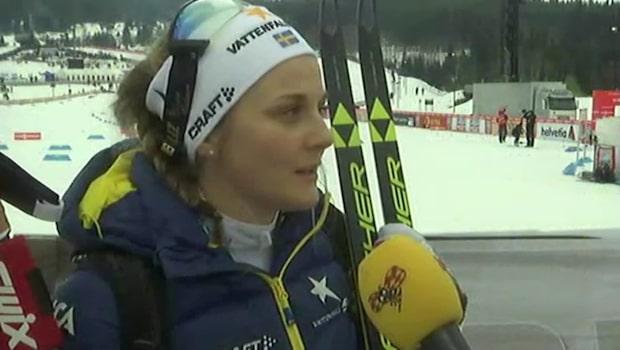 """Stina Nilsson: """"Inte pigg i dag"""""""