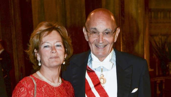 Lena Adelsohn Liljeroth och Ulf Adelsohn. Foto: Fredrik Sandberg/Tt / TT NYHETSBYRÅN