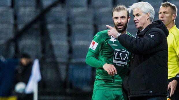 Hammarby sparkar Nanne Bergstrand