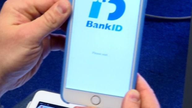 Andra kan ta sig in på ditt bank-ID