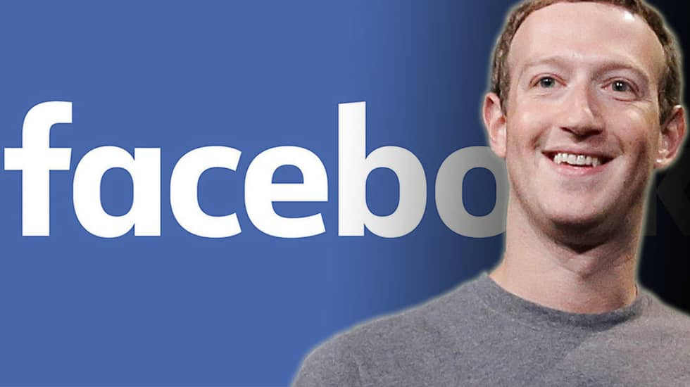 Mark Zuckerberg, vd för Facebook.