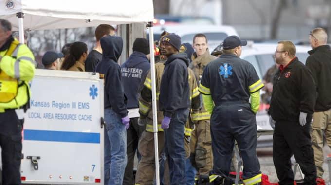 Upp till 30 personer kan vara skadade. Foto: Fernando Salazar