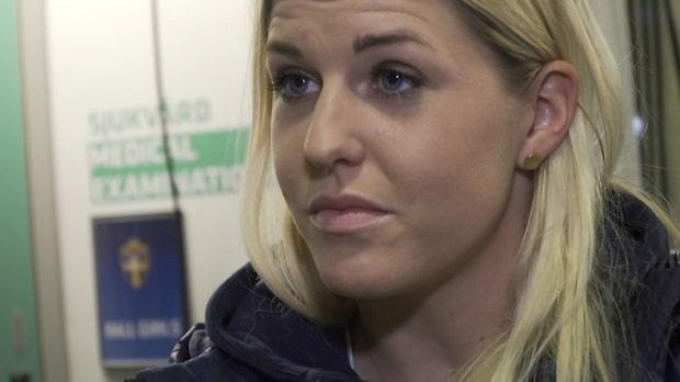 Olivia Schough rördes till tårar inför mötet med Iran