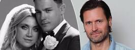 Läckberg höll bröllopet hemligt för Martin Melin