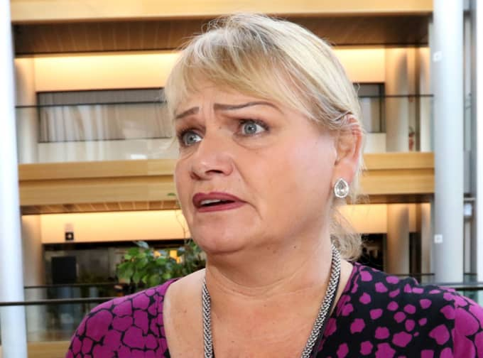 Soraya Post, ledamot i EU-parlamentet, tar starkt avstånd från Göran Perssons utspel. Foto: Kristofer Sandberg