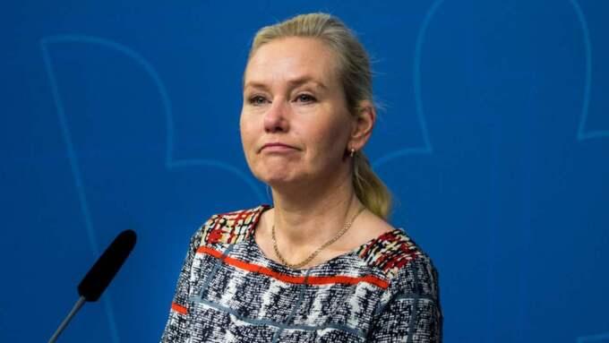Anna Johansson (S), infrastrukturminister. Foto: Pelle T Nilsson