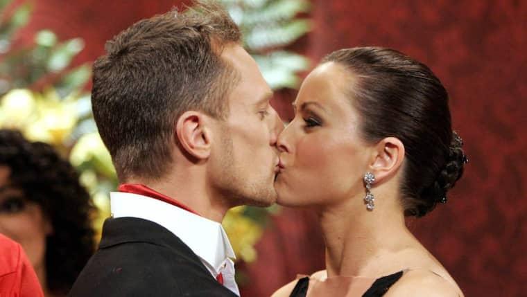 """Tobias Wallin och Helena Fransson från """"Let's dance"""" har blivit föräldrar igen. Foto: Sven Lindwall"""