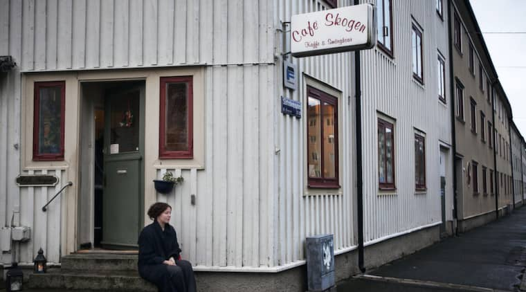 """Trist. Påd enna korta gatsträcka man tillåts att ha tråkigt. Jag säger som min mamma: """"Gud så skönt, här händer ju absolut ingenting"""", skriver Kajsa Bergström. Foto: Amelie Herbertsson"""