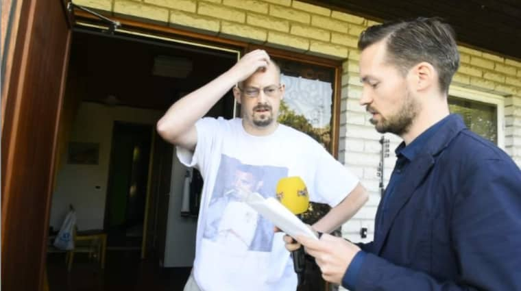 """""""SKRIVER I AFFEKT"""". Thomas Bengtsson medger att det är han som står bakom falskt namn på hatsajterna för Expressens reporter David Baas."""