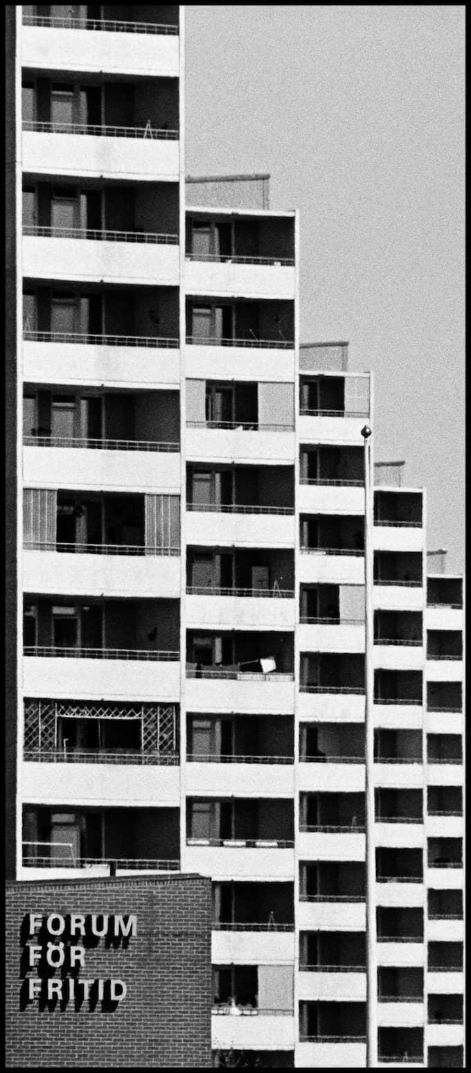 Frölunda Torg 1975. Foto: Ingmar Jernberg