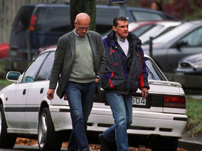 Gert Fylking umgicks med Christer Pettersson under hans sista tio år i livet. Foto: Magnus Jönsson