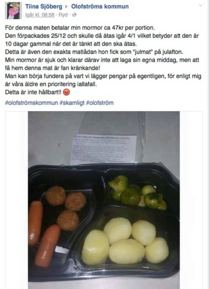 Många har kommenterat och reagerat på Tiinas inlägg. Foto: Facebook