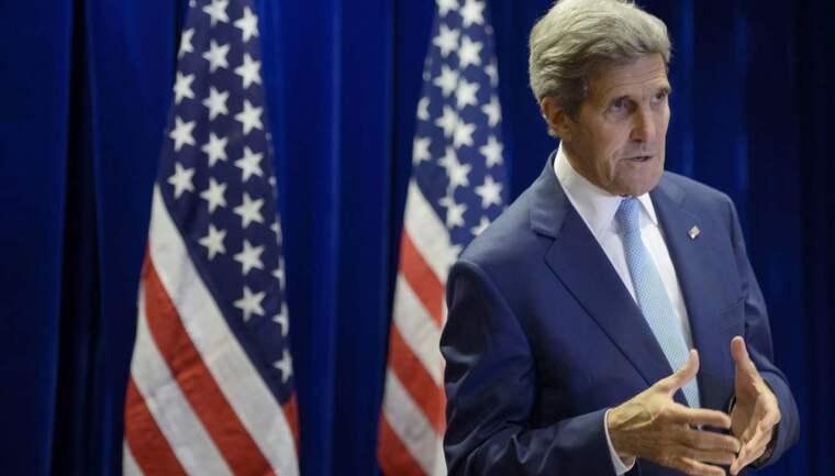 USA:s utrikesminister väntas snart tillkännage det nya avtalet om Syrien. Foto: Brendan Smialowski