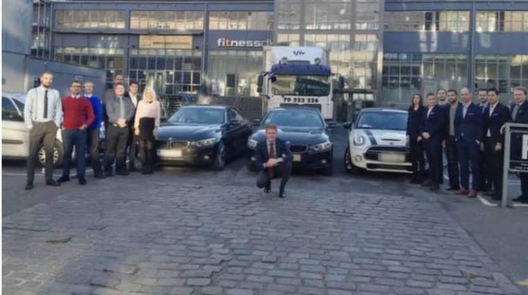 Danska it-företaget Ageras ska låta sina nyckelpersoner åka BMW över Öresundsbron Foto: Pressbild