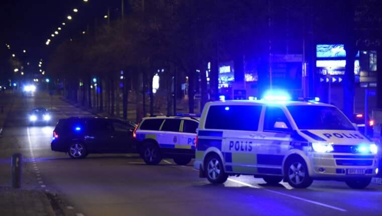En person fördes till sjukhus efter misshandel i Malmö på onsdagskvällen. Foto: Andreas Holm
