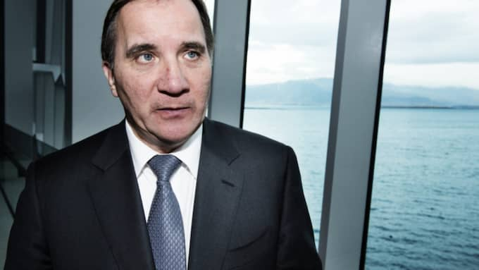 För statsminister Stefan Löfven väntar nu några intensiva dagar av nätverkande, minglande och möten. Foto: Anna-Karin Nilsson