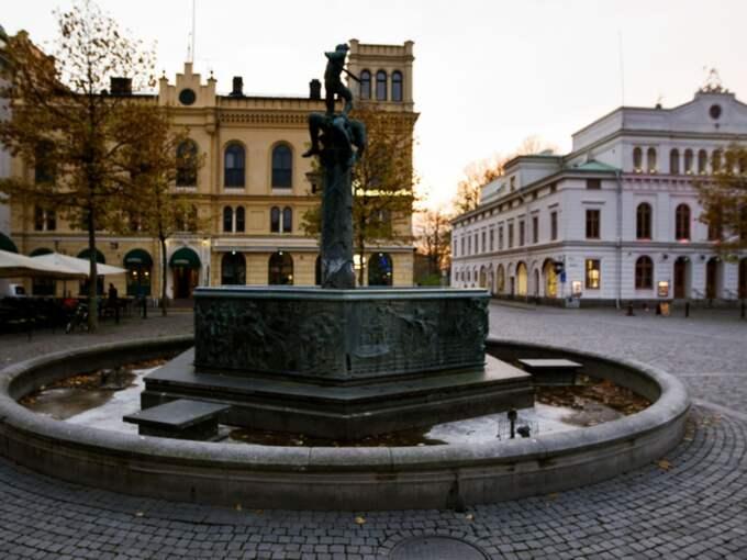 Nyårsfirandet på Larmtorget i Kalmar har resulterat i flera anmälningar om sexuellt ofredande. Foto: Nils Petter Nilsson