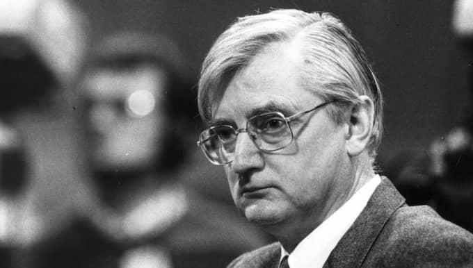 Den förre justitieministern Sten Wickbom har avlidit, 84 år gammal. Foto: Sven-Erik Sjöberg