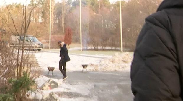 Här tar Alexander Isak farväl av AIK