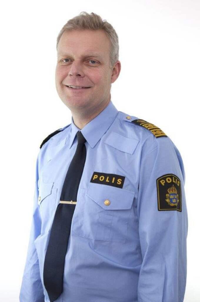 Lars Wirén, polisområdeschef i Värmland.