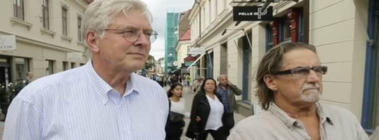 Vill rädda handeln. Se intervjun med Hans Karlsson och Gunnar Eistam, två av representanterna i utbrytarföreningen Cityhandlarna, på gt.se. Foto: Per Wissing