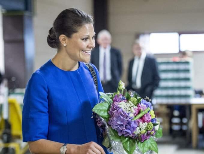 Kronprinsessan Victoria i Östra Göinge. Foto: Tomas Leprince
