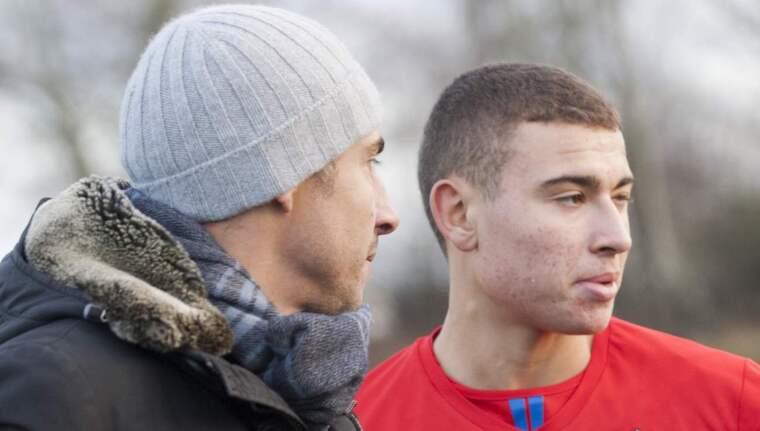 Henrik och Jordan Larsson. Foto: Lennart Månsson / Bildbyrån