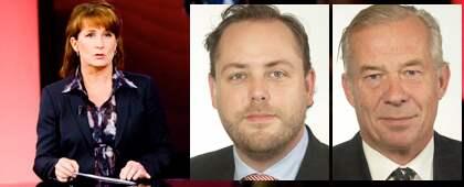 Anna Hedenmo utmanar de moderata riksdagsledamöterna Jan R Andersson och Peder Wachtmeister.