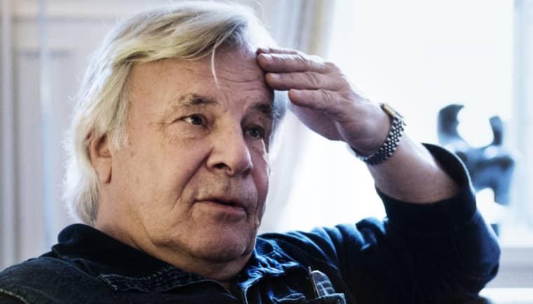 Jan Guillou har länge följt utredningen runt mordet på Olof Palme. Foto: Anna-Karin Nilsson