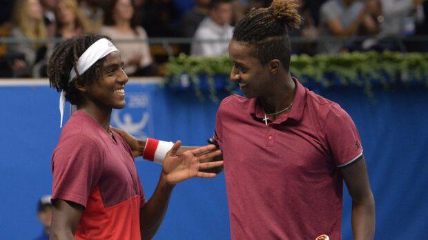 Bröderna Ymer vann dubbeln i Stockholm Open