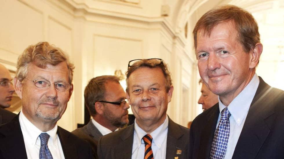 """Jacob Wallenberg, 59, Peter """"Poker"""" Wallenberg, 56 och Marcus """"Husky"""" Wallenberg, 59. Foto: Gunnar Seijbold"""