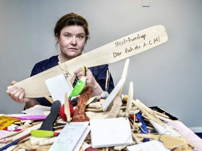 """""""Smörknivsupproret"""" har nått Expressens ledarskribent med lika delar fantasifullhet, humor och sälta. Foto: Michaela Hasanovic"""
