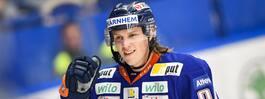 Spelade i Hockeyettan i fjol - nu succémålskytt i debuten