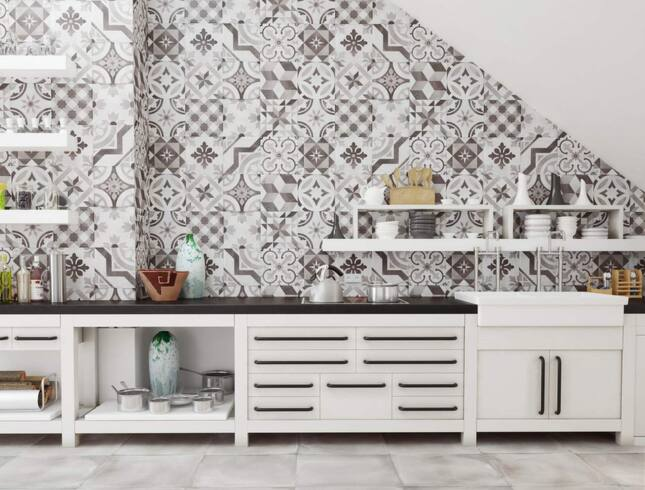 Marockanskt Kakel Till Kok : Kakel o att volja rott till ditt kok eller badrum  Kakel