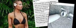 Fitness-stjärnan död efter gräddexplosion
