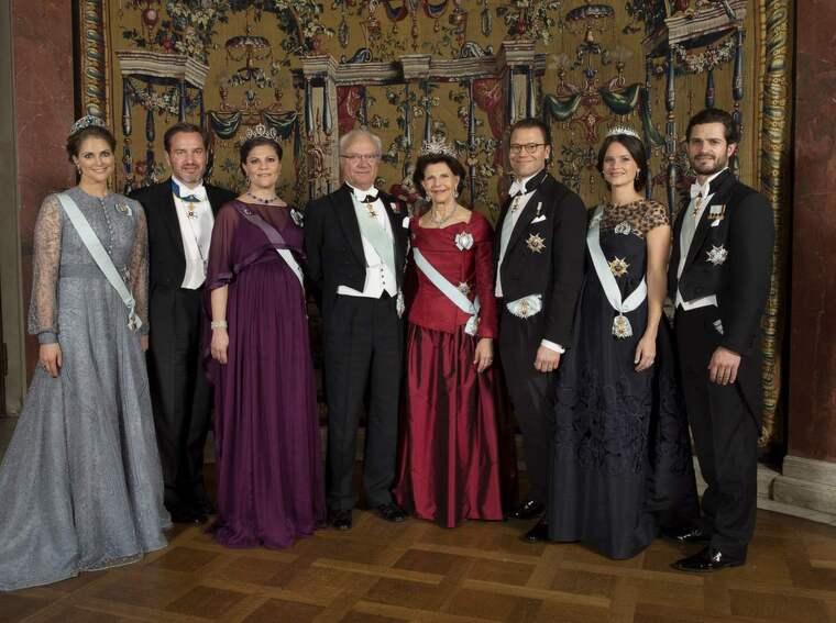 Nyårshälsningen från kungafamiljen. Foto: Jonas Ekstromer