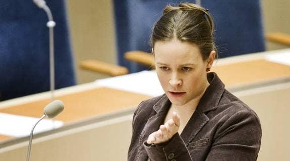 Maria Wetterstrand angriper smygreklamen i bloggvärlden. Foto: NILS PETTER NILSSON