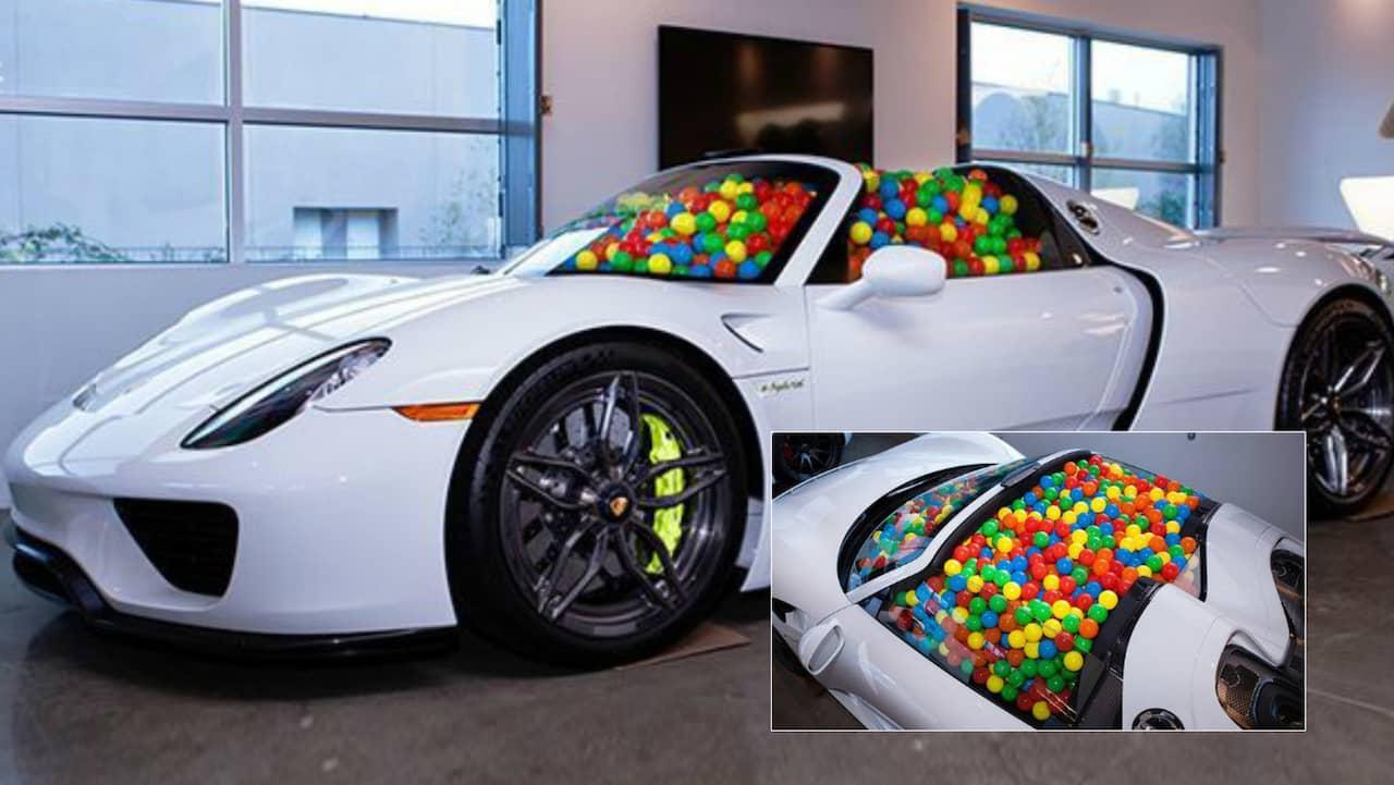 De G 246 R Ett Bollhav Av Sin Porsche 918 Spyder Allt Om Bilar