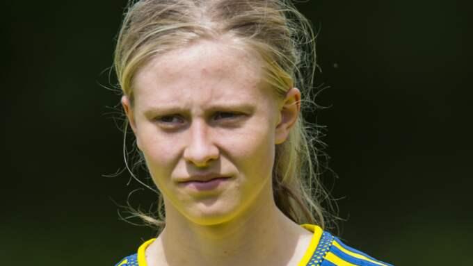 Göteborg FC:s Rebecka Blomqvist är snart redo för spel. Foto: Andreas Sandström / BILDBYRÅN