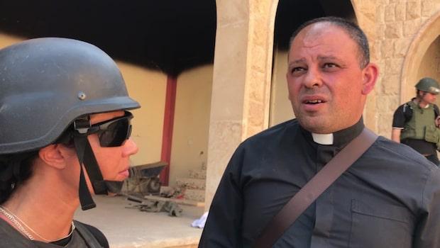 """Magda Gad i återtagna IS-staden: """"Bara grus kvar"""""""