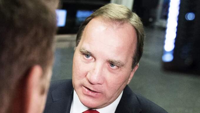 Stefan Löfven hotar näringslivet med kvotering. Foto: Anna-Karin Nilsson