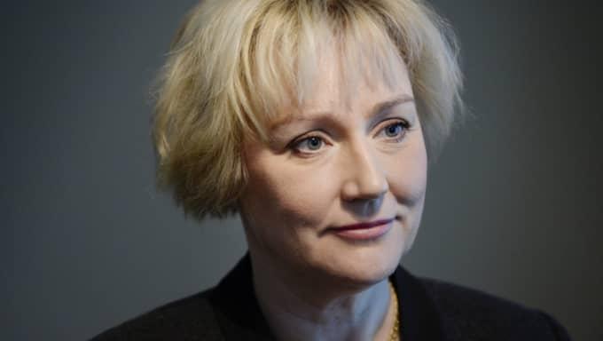 Forskningsminister Helene Hellmark Knutsson (S). Foto: Jessica Gow/Tt