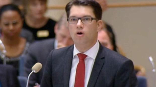 Jimmie Åkesson sjukskriven