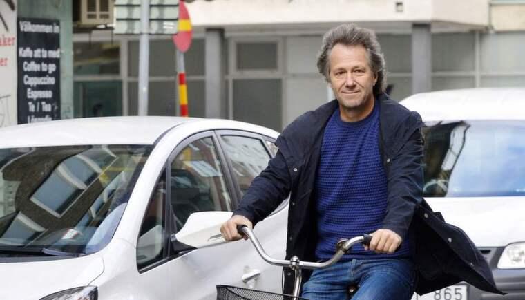 Fredrik Gertten regissör för dokumentärfilmen Bikes vs Cars. Foto: Lasse Svensson