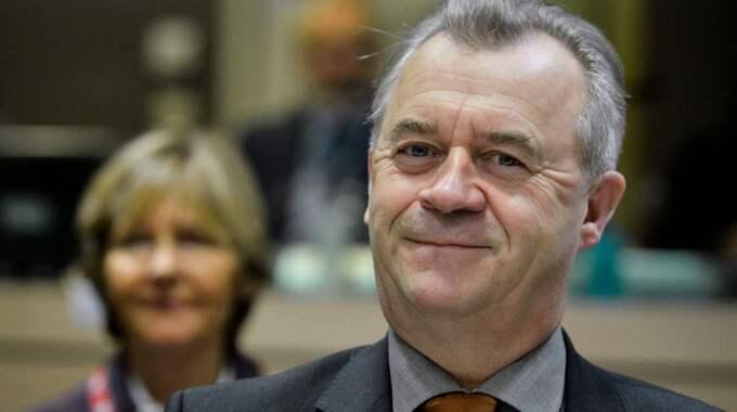 Sven-Erik Bucht, (S) landsbygdsminister. Foto: Stephanie Lecocq/Epa/TT