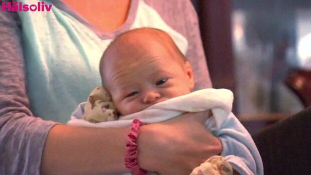Trodde att hon hade njursten - lämnade sjukhuset med en nyfödd son